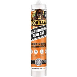 Gorilla Glue Gorilla All Condition Sealant White 295ml - 97258 - from Toolstation