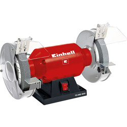 "Einhell Einhell TC-BG 200 200mm/8"" 400W Bench Grinder 230V - 97333 - from Toolstation"