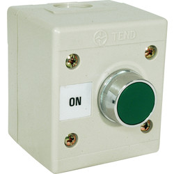 Axiom Axiom Push Button Green On - 97340 - from Toolstation