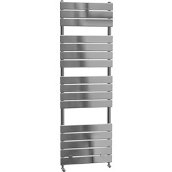 Cassellie Malham Straight Designer Radiator 1512 x 500mm Chrome 1836Btu - 97351 - from Toolstation