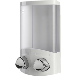Croydex Croydex Euro Duo Soap Dispenser White - 97477 - from Toolstation
