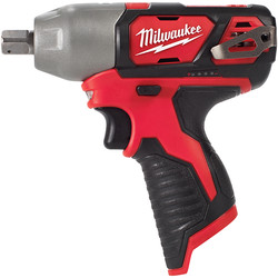 "Milwaukee Milwaukee M12BIW12-0 12V Li-Ion Cordless Compact Impact Wrench 1/2"" Body Only - 97483 - from Toolstation"