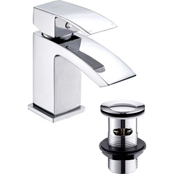 Deva Deva Swoop Taps Basin Mixer - 97513 - from Toolstation