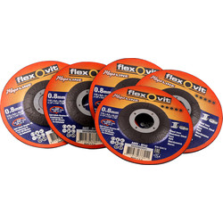 Norton Norton Extra Thin 0.8mm Metal Cutting Disc 115 x 0.8 x 22mm - 97574 - from Toolstation