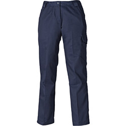 Dickies Redhawk Women's Trousers Size 12 Navy