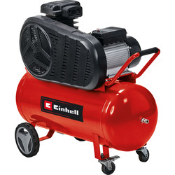 Einhell Einhell TE-AC 400/90/10V 90L 4.1Hp Belt Drive Air Compressor 230V - 97655 - from Toolstation
