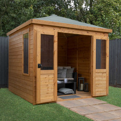 Mercia Mercia Clover Summerhouse 8' x 8' - 97681 - from Toolstation