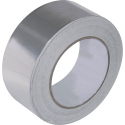 Ultratape Aluminium Foil Tape 50mm x 45m - 97723 - from Toolstation