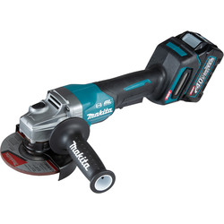 Makita Makita XGT 40V Max Angle Grinder 125mm 1 x 2.5Ah - 97785 - from Toolstation