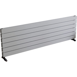 Ximax Ximax Oxford Duo Horizontal Designer Radiator 445 x 1500mm 3966Btu White - 97792 - from Toolstation