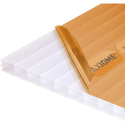 Axiome Axiome 16mm Polycarbonate Opal Triplewall Sheet 690 x 2000mm - 97839 - from Toolstation