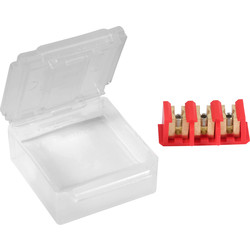Raytech Raytech Bravo 3-6 Gel Box IP68 59 x 49 x 22mm - 97937 - from Toolstation