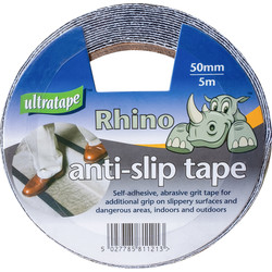Ultratape Black Anti Slip Tape 50mm x 5m - 97962 - from Toolstation