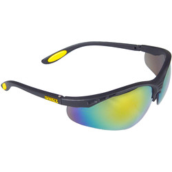 DeWalt Reinforcer Safety Glasses Fire Mirror
