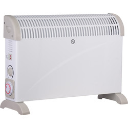 2kW Convector Heater 24 Hour Timer - 98046 - from Toolstation