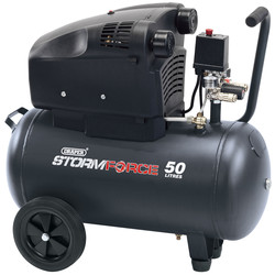 Draper Draper 50L 1800W Air Compressor 230V - 98066 - from Toolstation