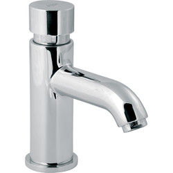 Vision Self Closing Non Concussive Basin Tap  - 98127 - from Toolstation