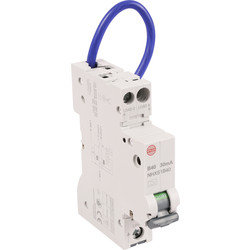 Wylex Wylex Mini RCBO 40A 30Ma Type A - 98213 - from Toolstation