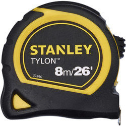 Stanley Stanley Tylon Tape Measure 8m - 98246 - from Toolstation