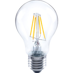 Integral LED Integral LED Filament GLS Dimmable Lamp 4.5W ES (E27) 470lm - 98482 - from Toolstation
