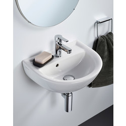 Armitage Shanks Armitage Shanks Sandringham 21 Hand Rinse Basin 45cm 1 Tap Hole - 98486 - from Toolstation