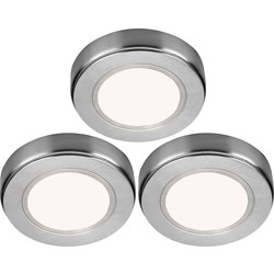 Sensio Sensio LED Low Voltage Round Under Cabinet Light Kit 24V Warm White 80lm - 98537 - from Toolstation