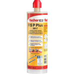 Fischer Fischer FIS P Plus Injection Polyester Resin 380ml - 98557 - from Toolstation