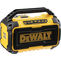 DeWalt DeWalt DCR011-XJ Bluetooth Speaker 10.8V/18V/54V - 98594 - from Toolstation