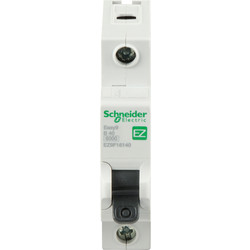 Schneider Electric Schneider Easy9 6KA MCB 40A SP Type B - 98655 - from Toolstation