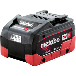 Metabo Metabo 18V Li-Ion High Demand Battery 5.5Ah - 98717 - from Toolstation