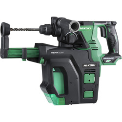 Hikoki Hikoki DH36DPB 36V MultiVolt Brushless Rotary SDS Plus 28mm Hammer Drill Body Only - 98719 - from Toolstation