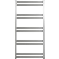 Pitacs Aeon Cat Ladder Designer Towel Warmer 1720 x 530mm Btu 1892 Brushed Stainless Steel - 98729 - from Toolstation