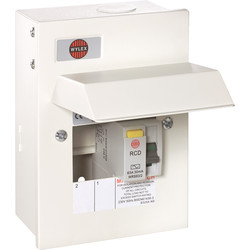 Wylex Metal 17th Edition Amendment 3 RCD Consumer Unit