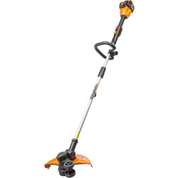 Worx Worx 40V (2x20V) Max 33cm Grass Trimmer 2 x 2.0Ah - 98819 - from Toolstation