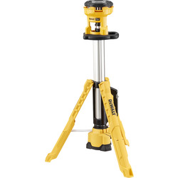 DeWalt DeWalt DCL079-XJ 18V XR LED Tripod Light Body Only - 98820 - from Toolstation