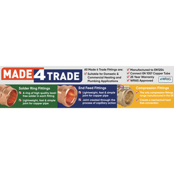 Made4Trade End Feed Straight Cylinder Union