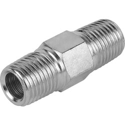 "Silverline 1/4"" Equal Union BSPT - 99003 - from Toolstation"