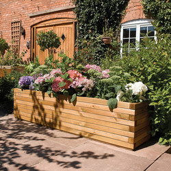 Rowlinson Rowlinson Patio Planter 37cm (h) x 180cm (w) x 40cm (d) - 99031 - from Toolstation