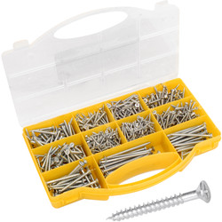 Countersunk Pozi Screw Pack