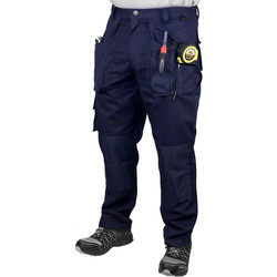 "Endurance Tradesman Trousers 30"" R Navy"