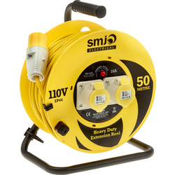 Extension Reel 110V 50m - 99189 - from Toolstation