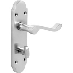 Beaufort Door Handles Bathroom Satin