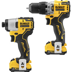 DeWalt DeWalt DCK2111L2T 12V XR Cordless Combi Drill & Impact Driver Kit 2 x 3.0Ah - 99236 - from Toolstation