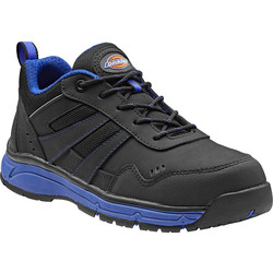 Dickies Dickies Emerson Trainers Black / Royal Blue Size 9 - 99263 - from Toolstation