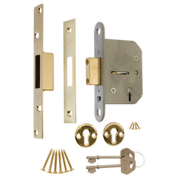 Viscount 5 Lever Mortice Deadlock