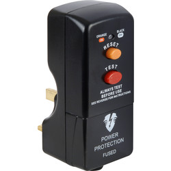 Masterplug RCD Plug  - 99372 - from Toolstation