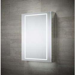 Sensio Sensio Sonnet Single Door LED Mirror Cabinet 700 x 500 x 138mm - 99393 - from Toolstation