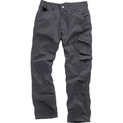 "Scruffs Worker Trousers 32"" R Graphite"