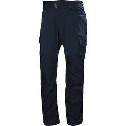 "Helly Hansen Helly Hansen Chelsea Evolution Service Trousers 30"" R Navy - 99456 - from Toolstation"