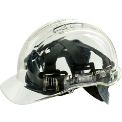 Portwest Peakview Safety Helmet Clear - 99530 - from Toolstation